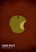 Minimalist Art Posters - Snow White Poster by Christian Jackson