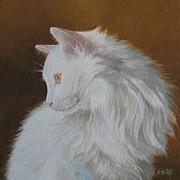 Snowball Print by Jindra Noewi