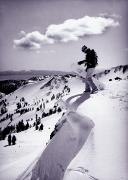 Young Adult Prints - Snowboarder, Squaw Valley, Ca Print by Dawn Kish