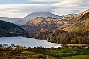 Snowdonia Framed Prints - Snowdonia No3 Framed Print by David Bowman