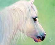Denise Laurent - Snowflake - Pony Portrait