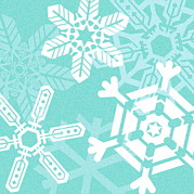 Crystalline Art - Snowflakes by David Nicholls
