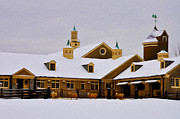 Snowy Digital Art - Snowy Day at Erdenheim Farm by Bill Cannon