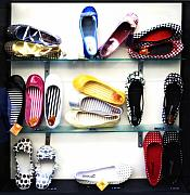 Shoes Originals - So many shoes... by Marilyn Hunt