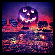 Scary Art - So Ready For Halloween ! by Mandy Shupp