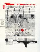News Mixed Media - Soak Up the Oil by Ricky Sencion