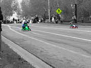 Race Drivers Photos - Soap Box Derby Fun by Al Bourassa