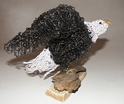 Baby Bird Sculpture Prints - Soar Print by Charlene White