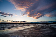 Seattle Prints - Soaring Beach Print by Mike Reid