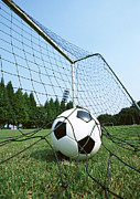 Soccer Net Posters - Soccer Poster by Datacraft Co Ltd