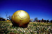 Soccer Ball Posters - Soccer Season Starts Poster by Scout J Photography