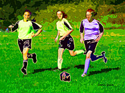 Sports Digital Art - Soccer by Stephen Younts