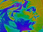 Heads Digital Art - Socialist by Randall Weidner