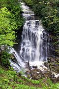 Soco Falls 1 Print by Marty Koch
