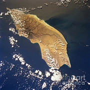 February Ocean Prints - Socotra Island Print by NASA / Science Source
