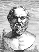Logical Metal Prints - Socrates, Ancient Greek Philosopher Metal Print by