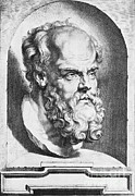 Debate Posters - Socrates, Greek-athenian Philosopher Poster by Science Source