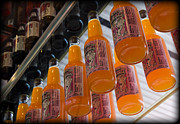 Arcadia Photo Prints - Soda Bottles Print by Ricky Barnard