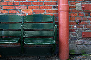 Sicks Framed Prints - SODO Seats Framed Print by Randall Arthur