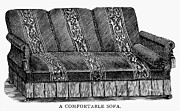 1878 Photos - Sofa, 1878 by Granger