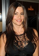 Black Lace Prints - Sofia Vergara At A Public Appearance Print by Everett