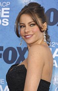 Naacp Framed Prints - Sofia Vergara At Arrivals For 42nd Framed Print by Everett