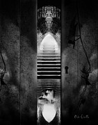 Gothic Photo Posters - Soft Asylum Poster by Bob Orsillo