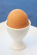 Egg-cup Photos - Soft-boiled Egg  by Atiketta Sangasaeng