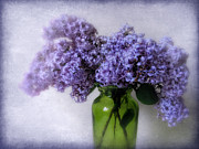 Lilacs Framed Prints - Soft Spoken Framed Print by Jessica Jenney