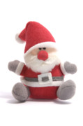 Toy Photo Prints - Softie Santa Print by Andy Smy