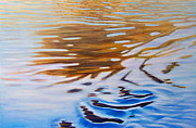 Ripples Paintings - Softly She Sings by Brian  Commerford