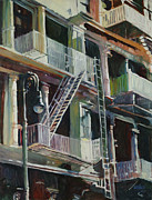 Patti Mollica - Soho Fire Escapes
