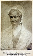 Slavery Photo Prints - Sojourner Truth 1797-1883 African Print by Everett