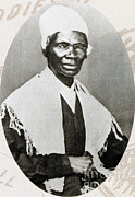 Slavery Metal Prints - Sojourner Truth, African-american Metal Print by Photo Researchers