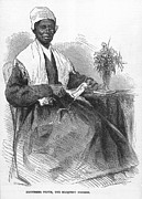 Reformer Framed Prints - SOJOURNER TRUTH (d.1883) Framed Print by Granger