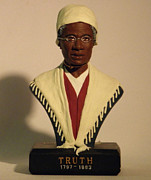 Freedom Sculpture Framed Prints - Sojourner Truth Framed Print by Nijel Binns