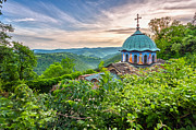 Orthodox Photo Posters - Sokolski Monastery Poster by Evgeni Dinev