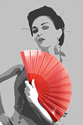 Kimono Posters - Sola Poster by Irina  March