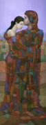 Klimt Painting Originals - Solace by Steve Mitchell
