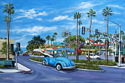 Beatle Framed Prints - Solana Framed Print by Lisa Reinhardt