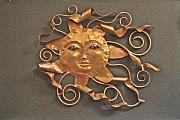 Celestial Sculptures - Solar Breeze number three by Lynn Wartski