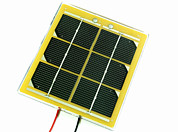 Solar Panel Prints - Solar Cell Print by Friedrich Saurer