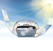 Reliable Framed Prints - Solar Cooking Device, Artwork Framed Print by Claus Lunau