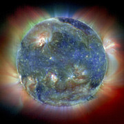 Whole Sun Art - Solar Corona by NASA / Science Source