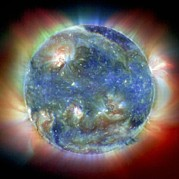 Whole Sun Art - Solar Corona by Nasa