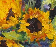 Living Artist Paintings - Solar Energy by Susan F Greaves