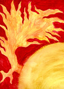 Flare Paintings - Solar Flare by Eric Forster