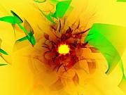 Solar Flare Print by Klara Acel