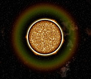 Whole Sun Art - Solar Granulation by Roger Harris