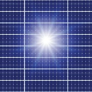 Solar Panel Prints - Solar Panels In The Sun Print by Detlev Van Ravenswaay